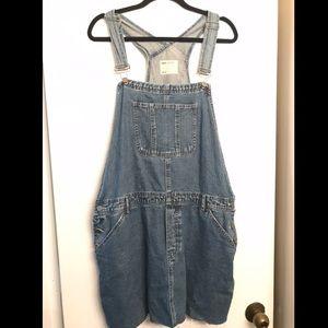 ASOS Denim Overall Dress size 14